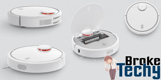 Xiaomi Robot Vacuum Clean A Room