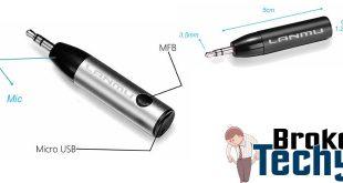 LANMU 3.5mm Bluetooth Receiver