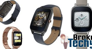 "ASUS ZenWatch 2 1.63"" Smart Watch"