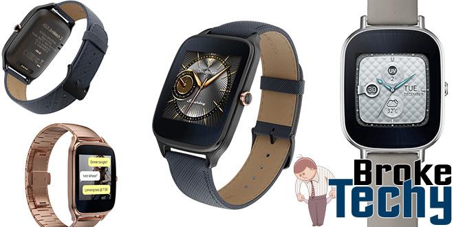"""ASUS ZenWatch 2 1.63"""" Smart Watch"""