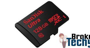 SanDisk Ultra 128GB Class 10 microSD Card