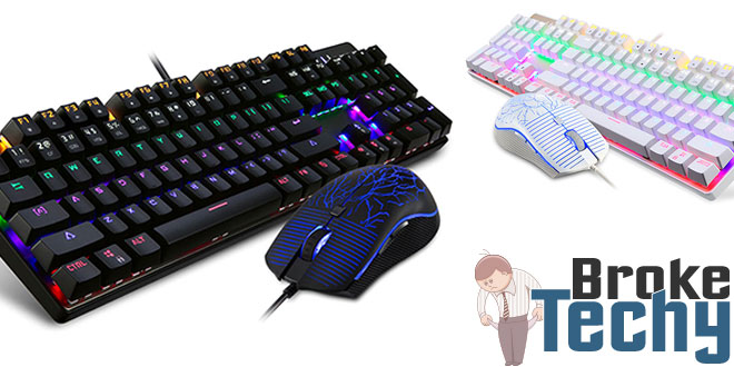Motospeed CK666 Mechanical Keyboard & Mouse